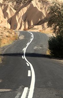 Cappadocia Road scenic