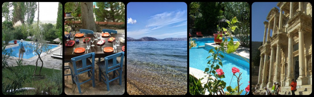 Luxury Aegean Itinerary Collage Day 2