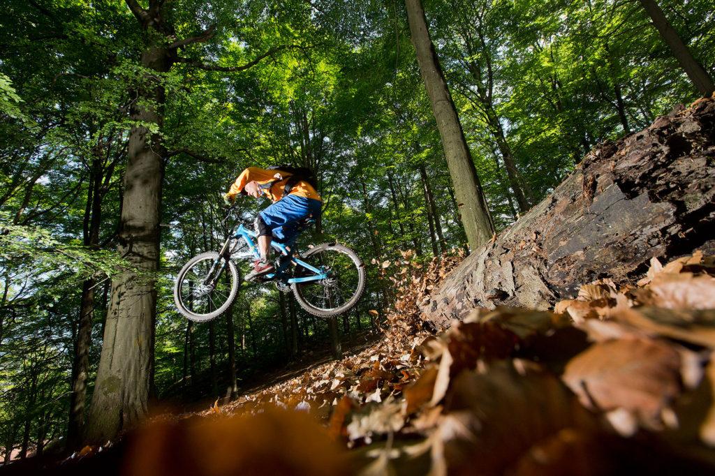 Biking in Turkey Sweden West Coast Singletrack
